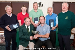 WWGC Winter League Winners
